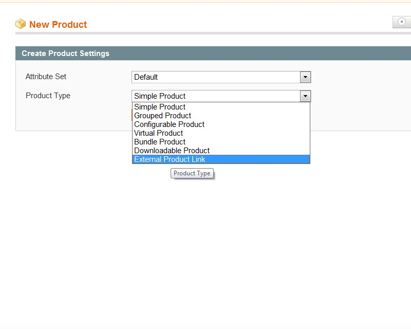 External Product Link Screenshot 2