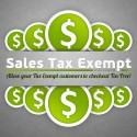 Sales Tax Exempt