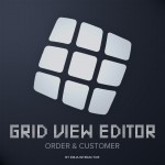 Grid View Editor - Order & Customer