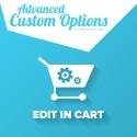 Advanced Custom Options - Edit In Cart!