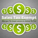 Sales Tax Exempt