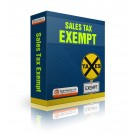 Sales Tax Exempt - Box Art