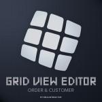 Grid View Editor - Order & Customer