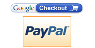 Accept Paypal and Google Checkout